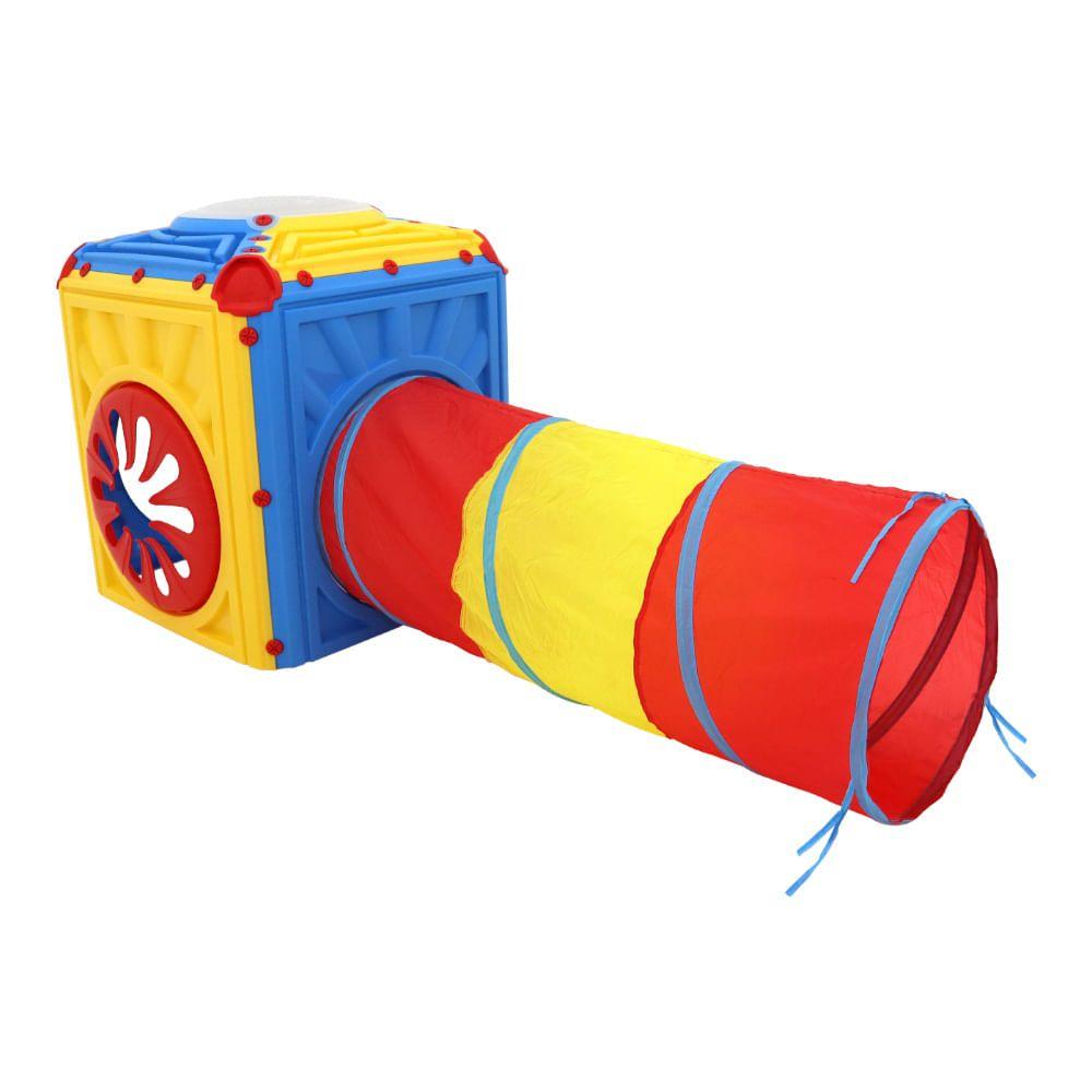 Cubo Play com Túnel